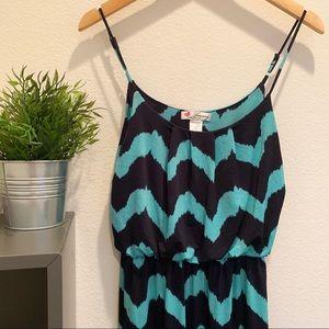 Dresses & Skirts - Mint & Navy Maxi Dress